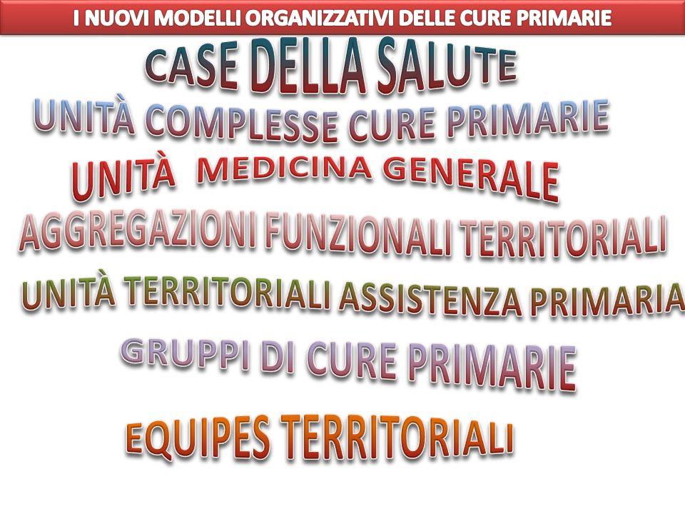 CASE DELLA SALUTE UNITÀ COMPLESSE CURE PRIMARIE