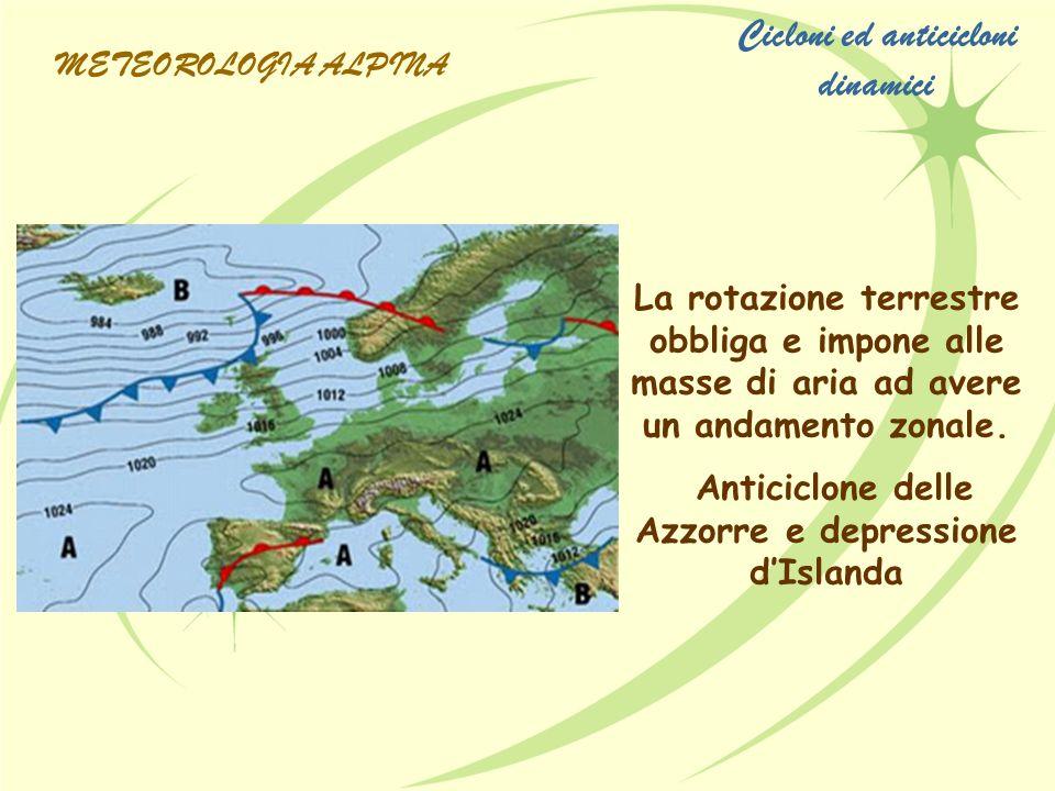 Cicloni ed anticicloni dinamici