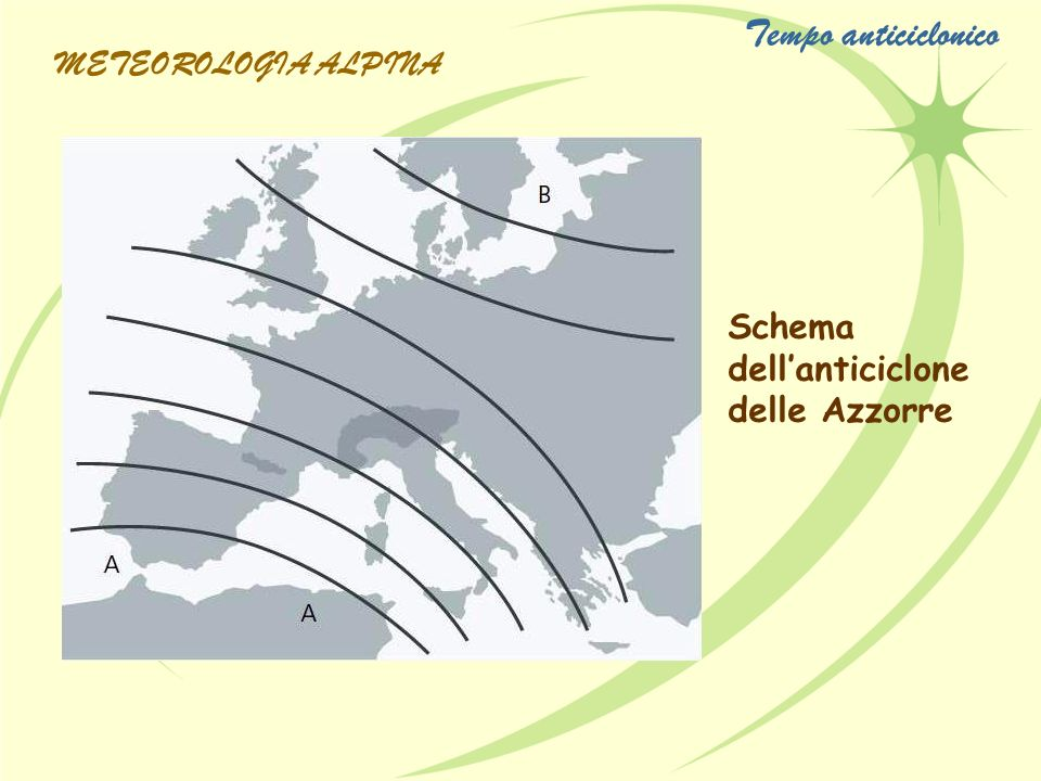 Tempo anticiclonico METEOROLOGIA ALPINA