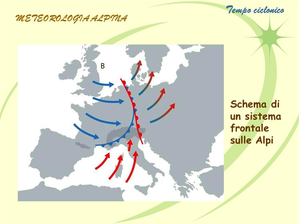 Tempo ciclonico METEOROLOGIA ALPINA