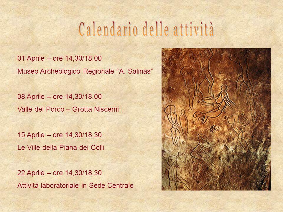 Calendario delle attività