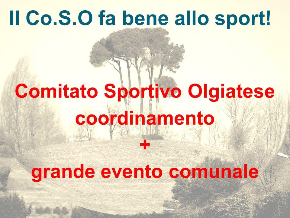 Il Co.S.O fa bene allo sport!
