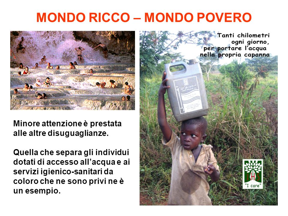 MONDO RICCO – MONDO POVERO
