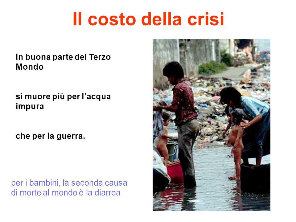 Il costo della crisi In buona parte del Terzo Mondo