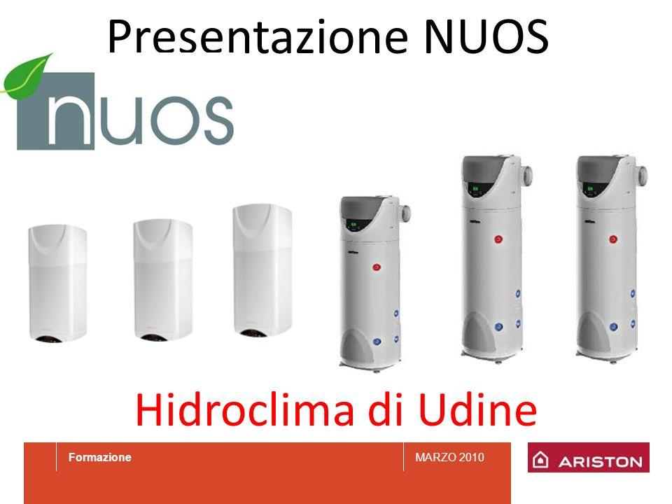 Presentazione NUOS Hidroclima di Udine