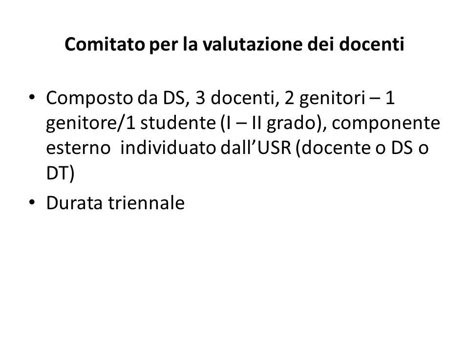 Comitato per la valutazione dei docenti
