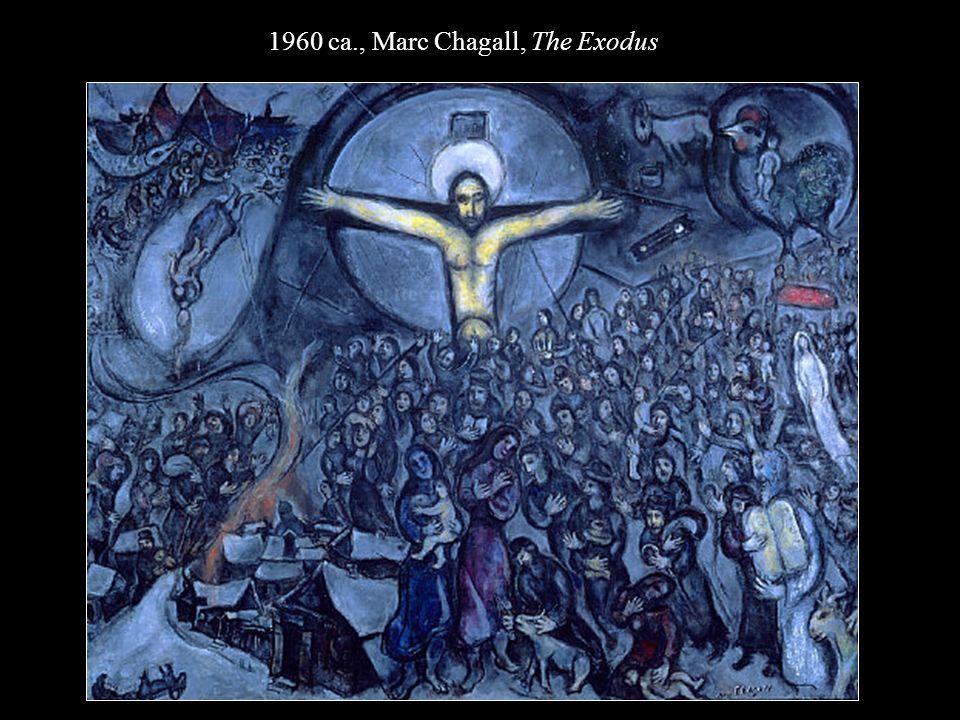 1960 ca., Marc Chagall, The Exodus