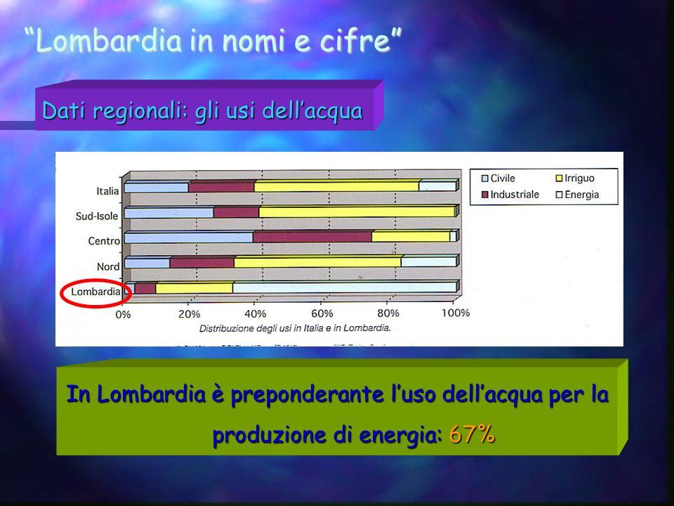 Lombardia in nomi e cifre