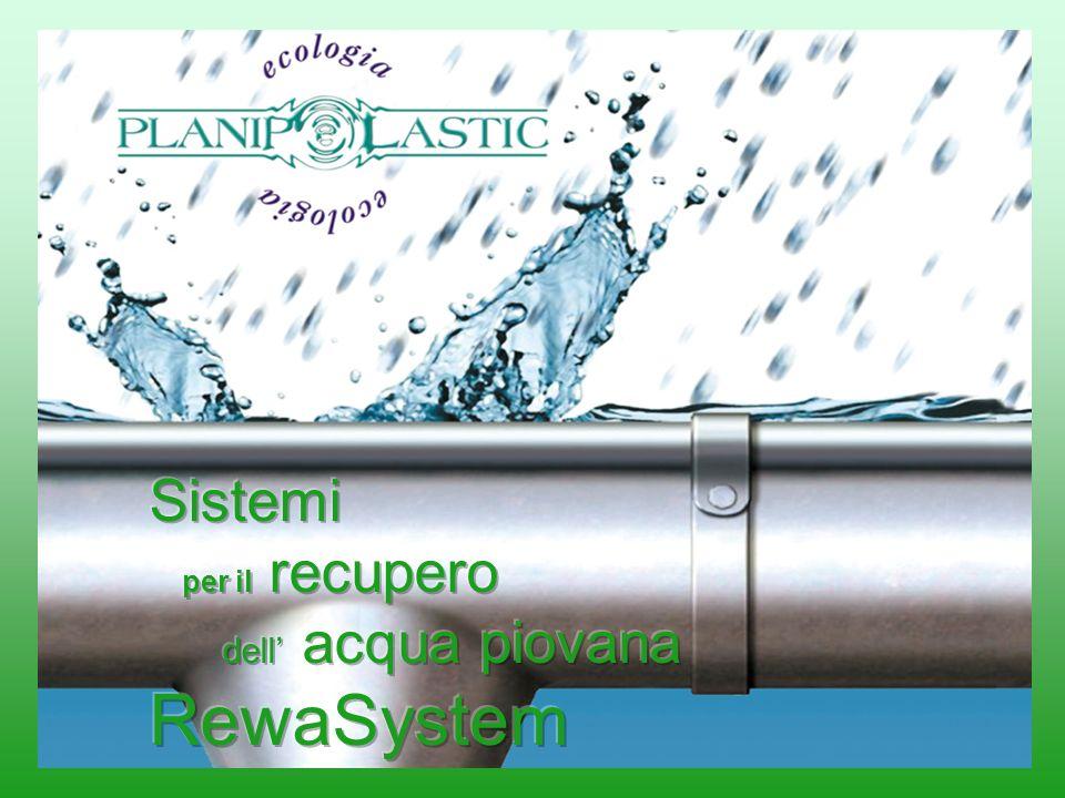 Sistemi per il recupero dell' acqua piovana RewaSystem