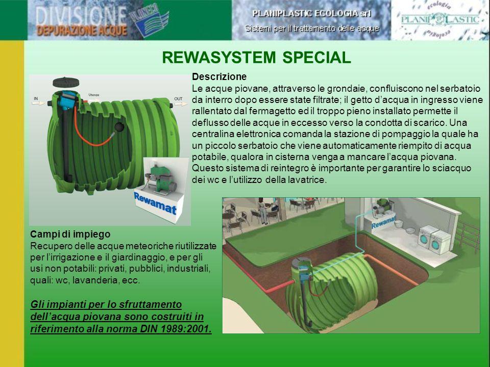 REWASYSTEM SPECIAL Descrizione.