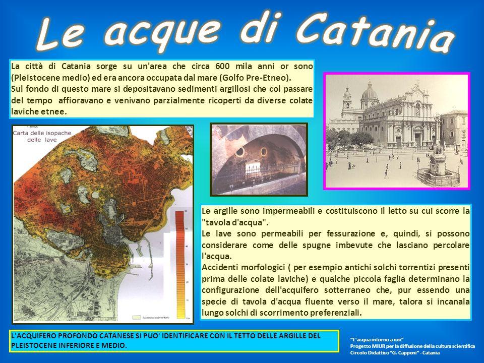 Le acque di Catania