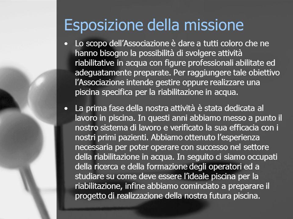 Esposizione della missione