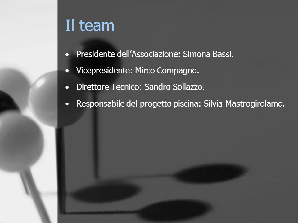 Il team Presidente dell'Associazione: Simona Bassi.