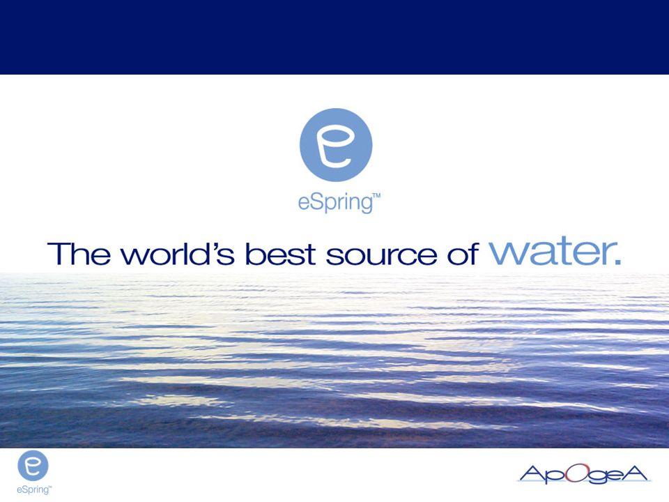 Il Sistema per il Trattamento dell'Acqua eSpring