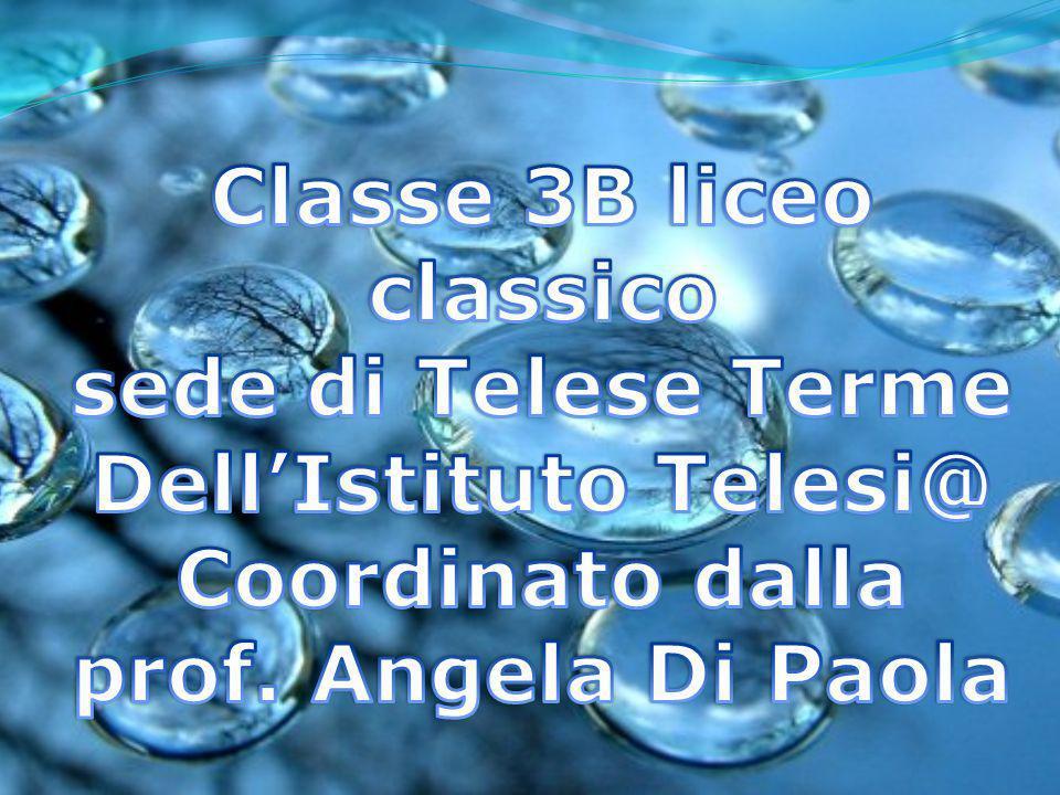 Classe 3B liceo classico sede di Telese Terme Dell'Istituto Telesi@