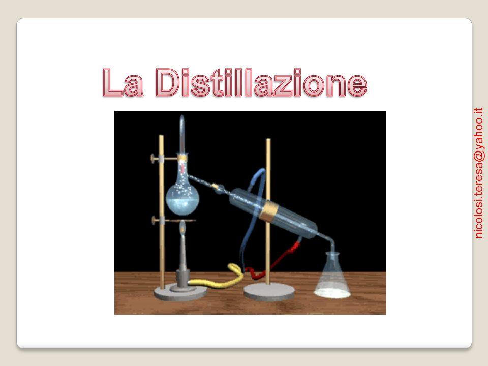 La Distillazione nicolosi.teresa@yahoo.it