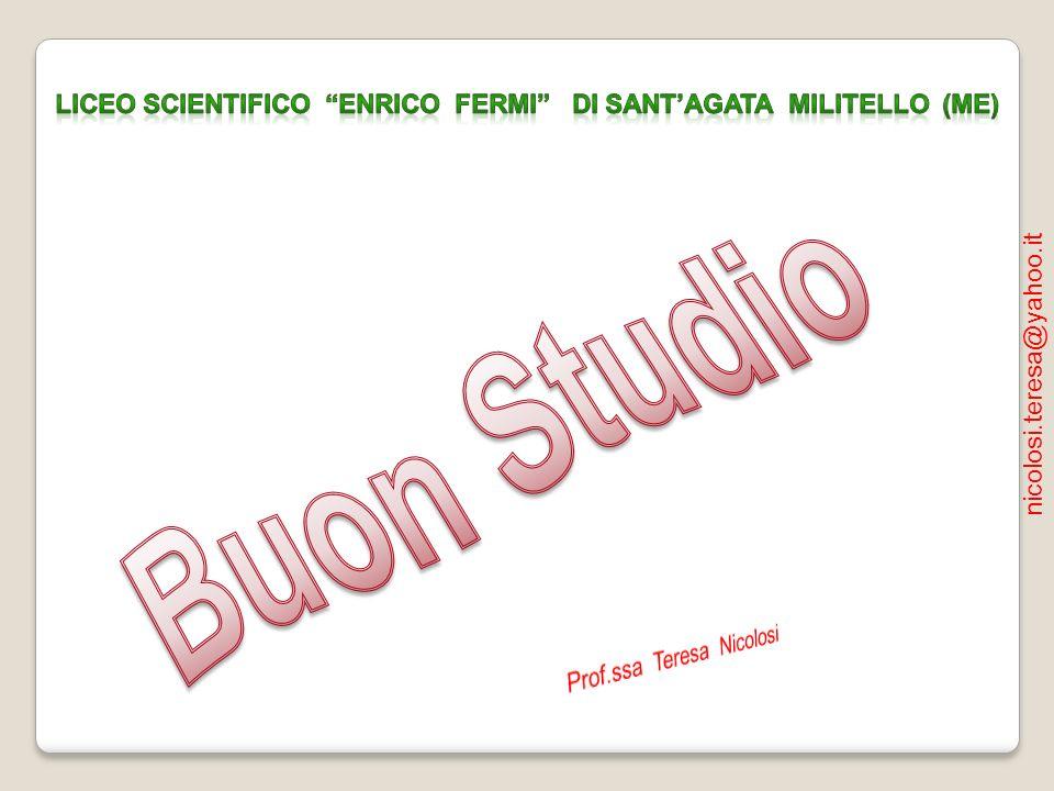 Liceo Scientifico Enrico Fermi di Sant'Agata Militello (ME)