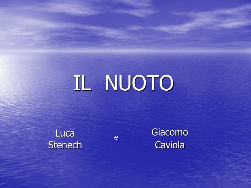 IL NUOTO Luca Stenech Giacomo Caviola e