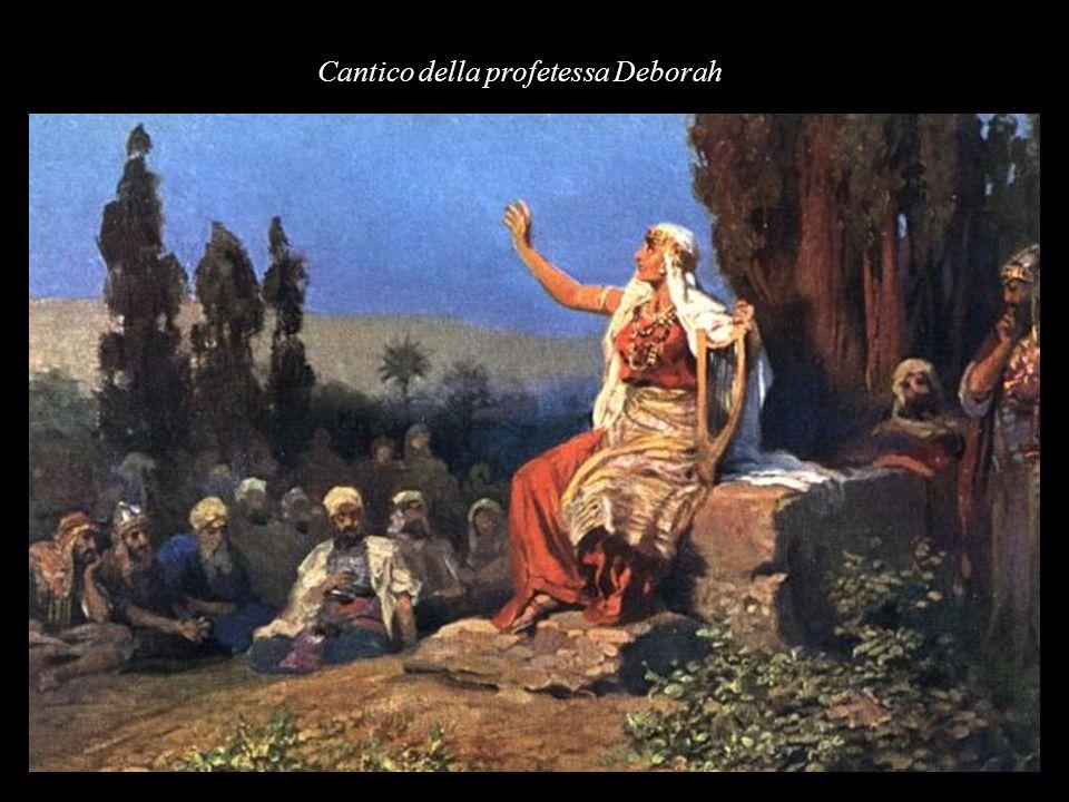 Cantico della profetessa Deborah