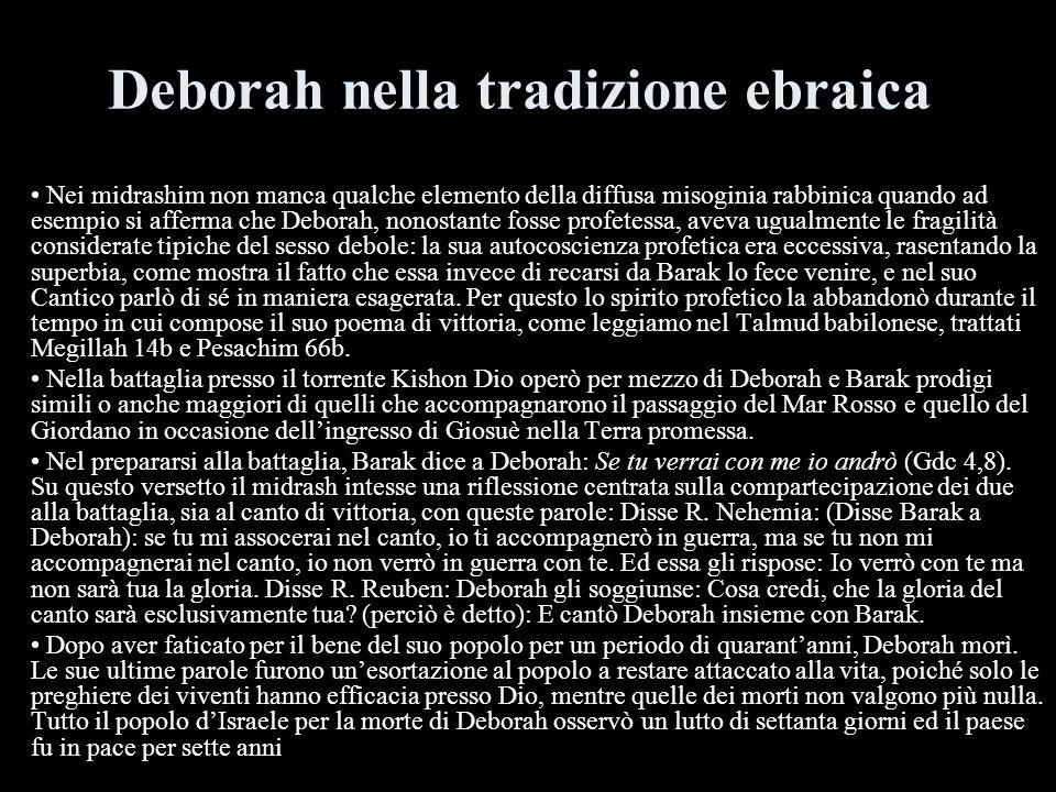 Deborah nella tradizione ebraica