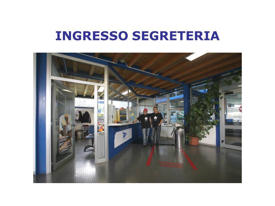 INGRESSO SEGRETERIA