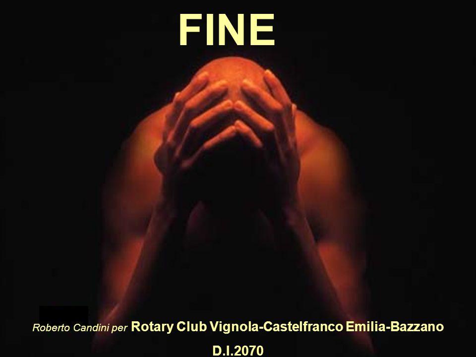 Roberto Candini per Rotary Club Vignola-Castelfranco Emilia-Bazzano