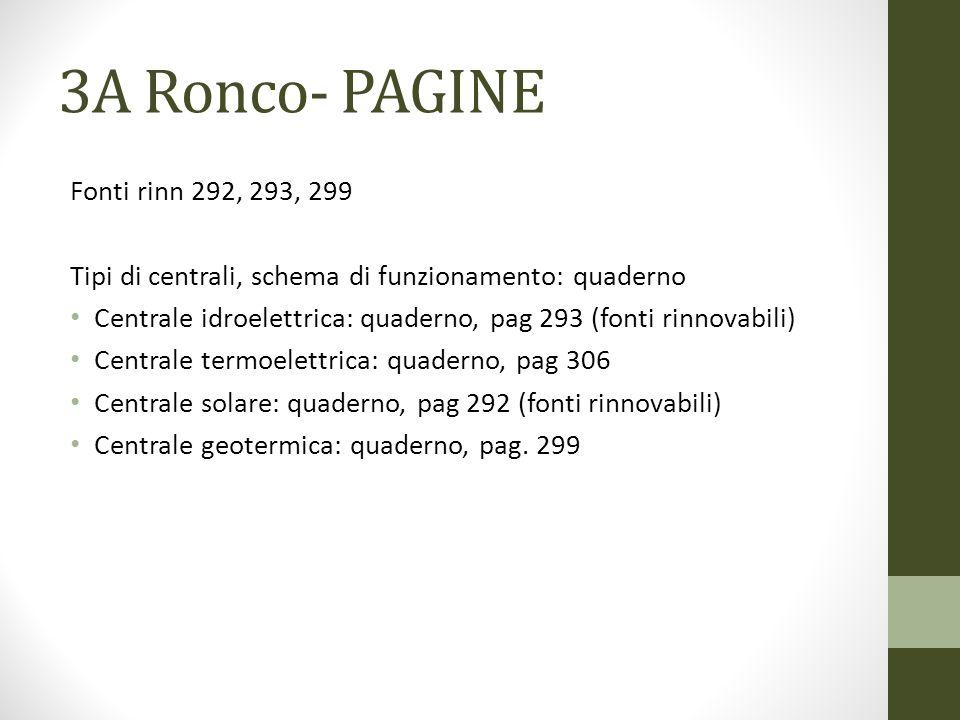 3A Ronco- PAGINE Fonti rinn 292, 293, 299
