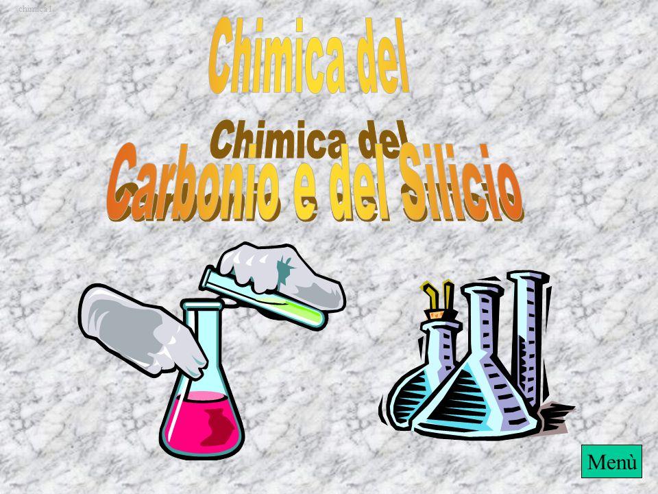 chimica1 Chimica del Carbonio e del Silicio Menù