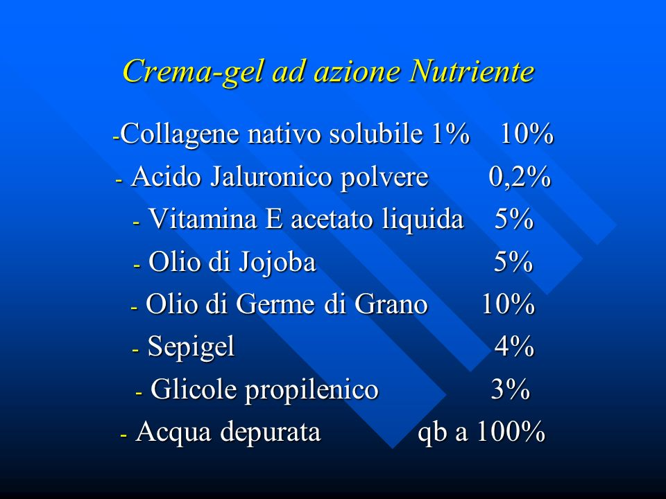 Crema-gel ad azione Nutriente