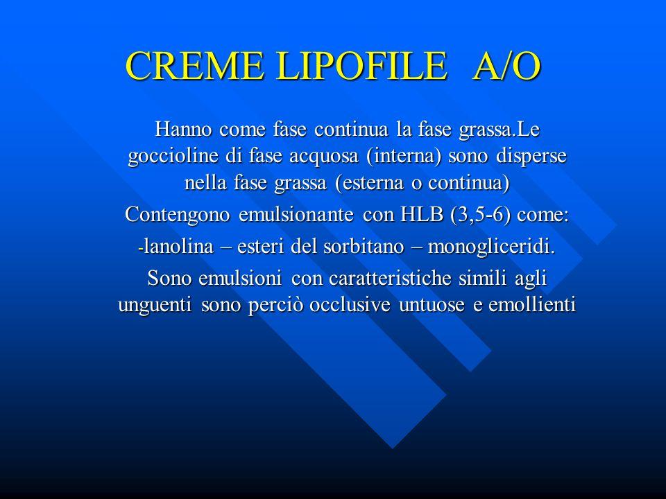 CREME LIPOFILE A/O