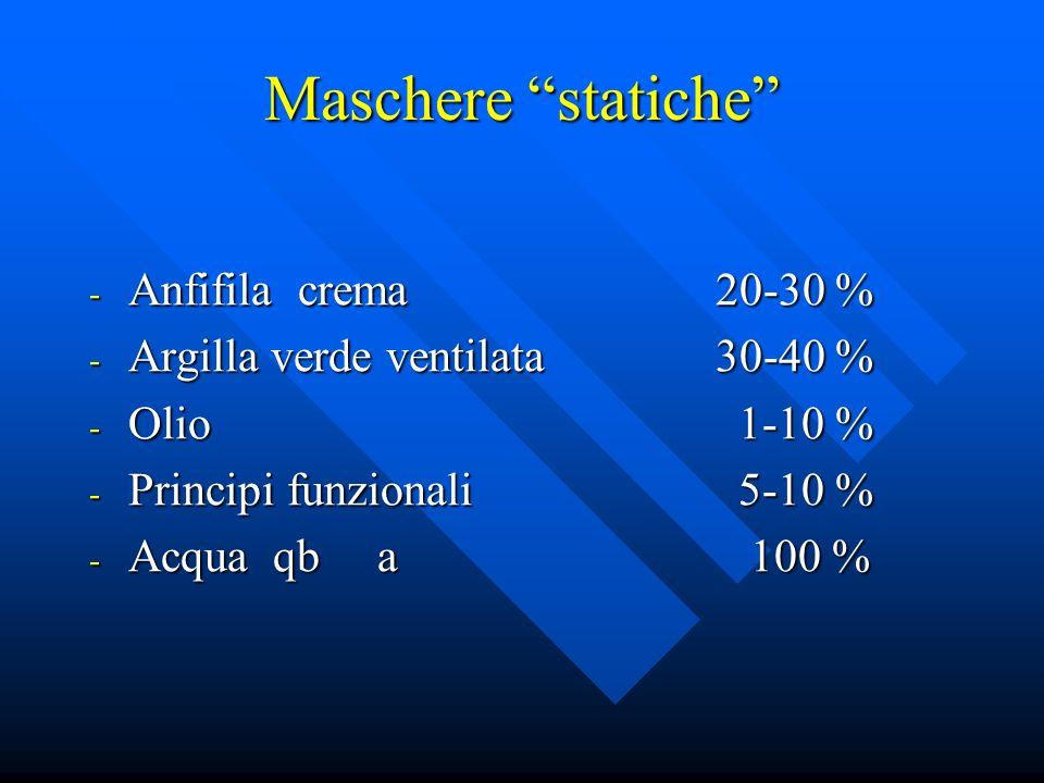 Maschere statiche Anfifila crema 20-30 %