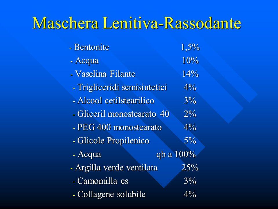 Maschera Lenitiva-Rassodante