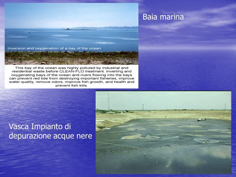 Baia marina Vasca Impianto di depurazione acque nere