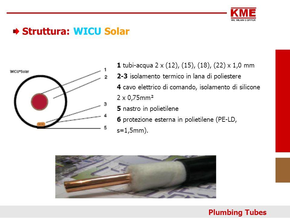Struttura: WICU Solar Plumbing Tubes