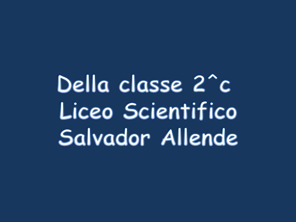 Della classe 2^c Liceo Scientifico Salvador Allende
