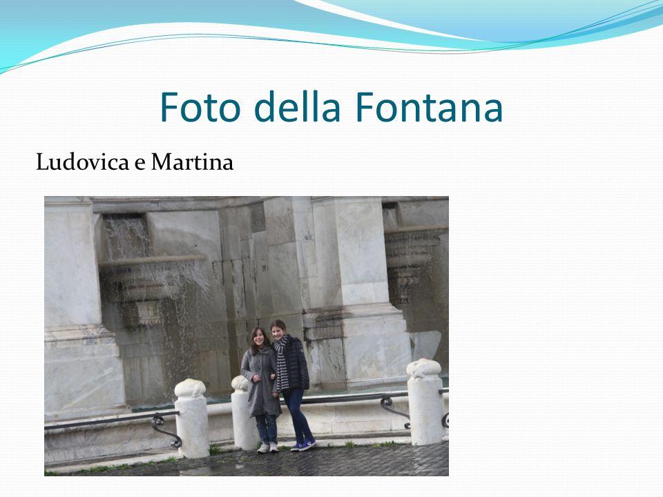 Foto della Fontana Ludovica e Martina