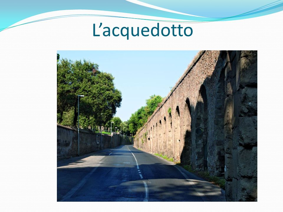 L'acquedotto