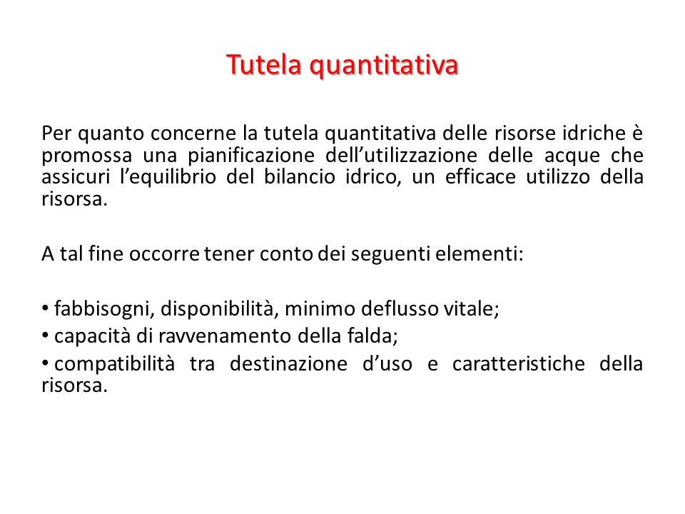 Tutela quantitativa