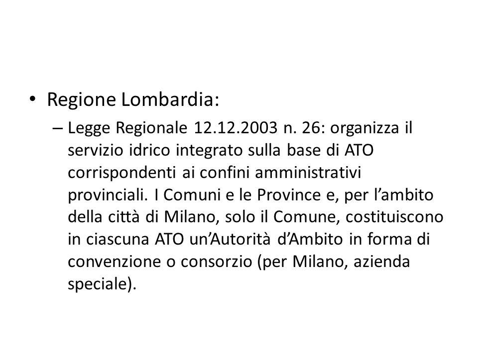 Regione Lombardia: