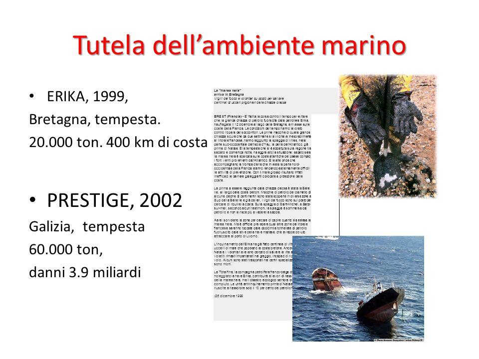 Tutela dell'ambiente marino