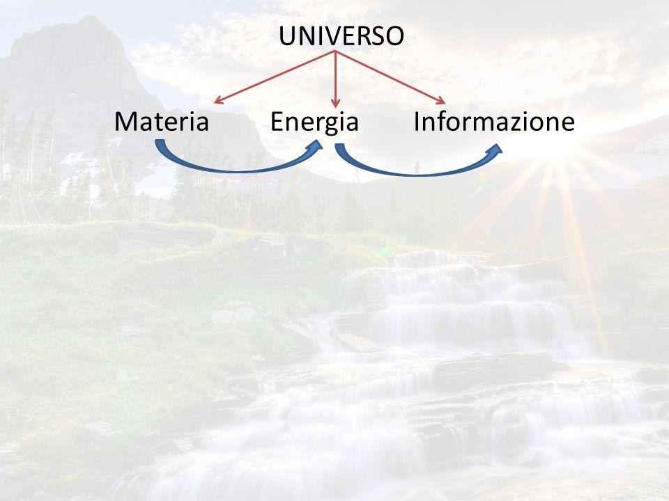 UNIVERSO Materia Energia Informazione
