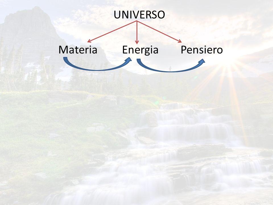 UNIVERSO Materia Energia Pensiero