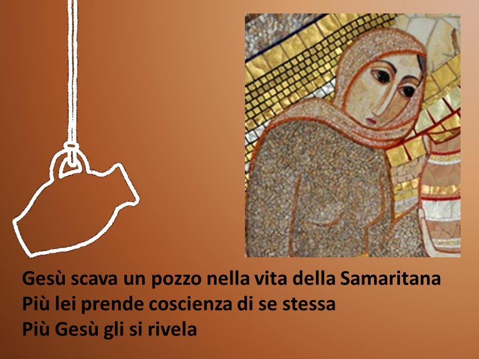 Gesù scava un pozzo nella vita della Samaritana