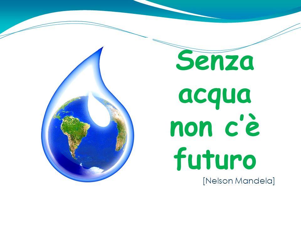 Senza acqua non c'è futuro