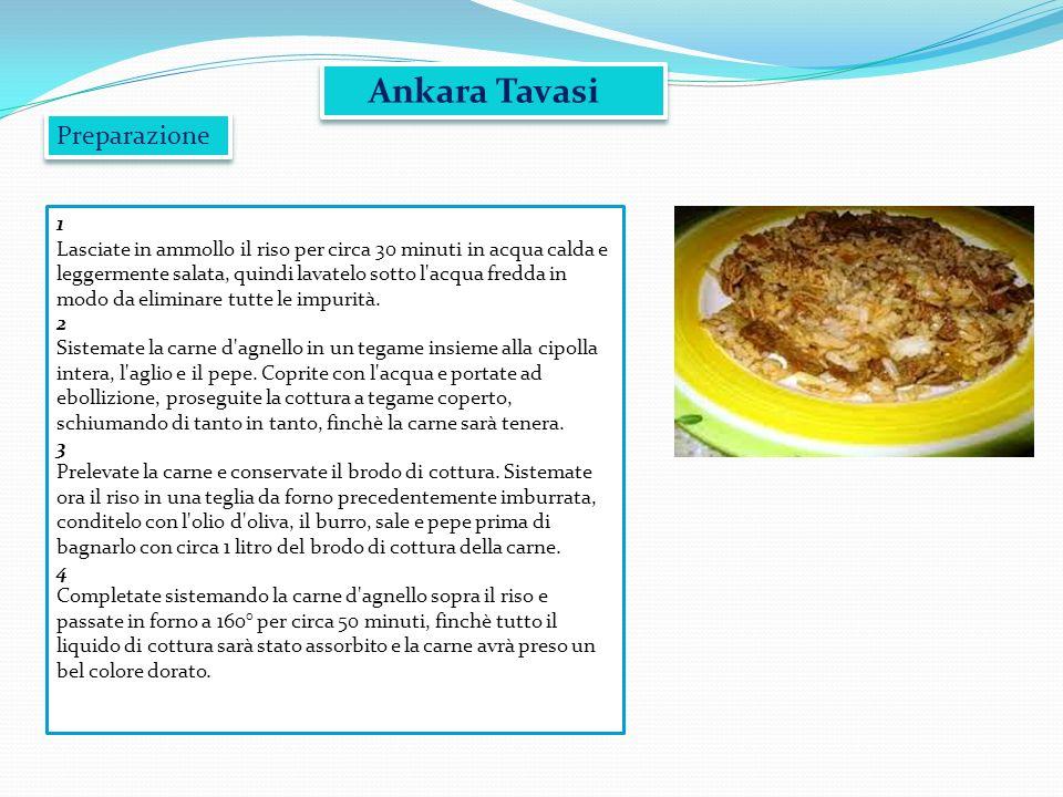 Ankara Tavasi Preparazione 1