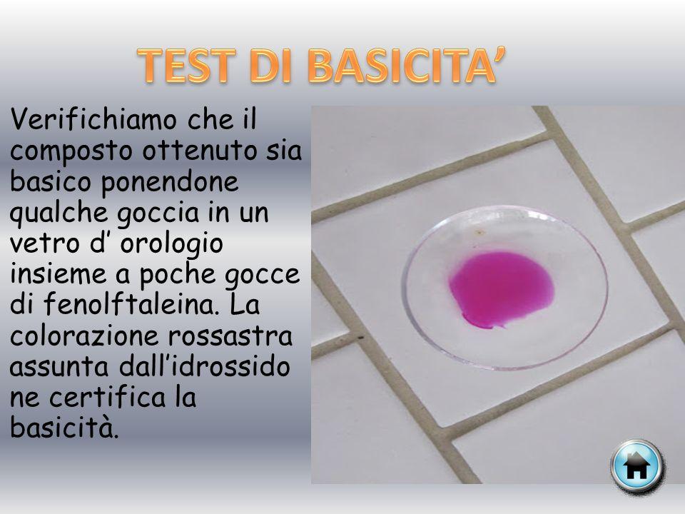 TEST DI BASICITA'