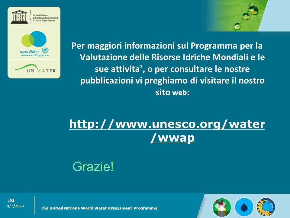 http://www.unesco.org/water /wwap