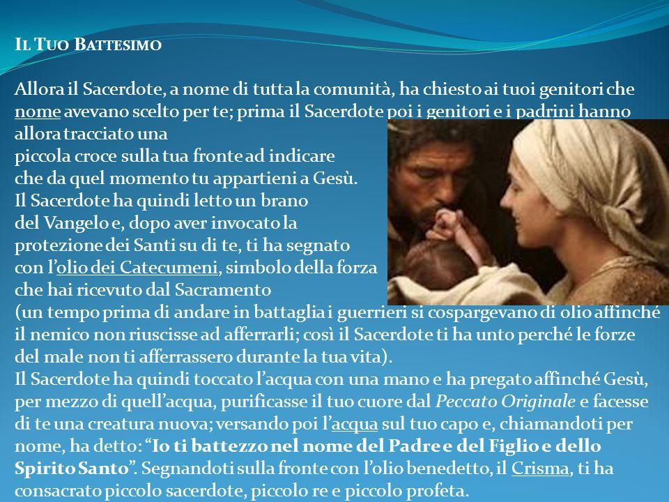 Il Tuo Battesimo