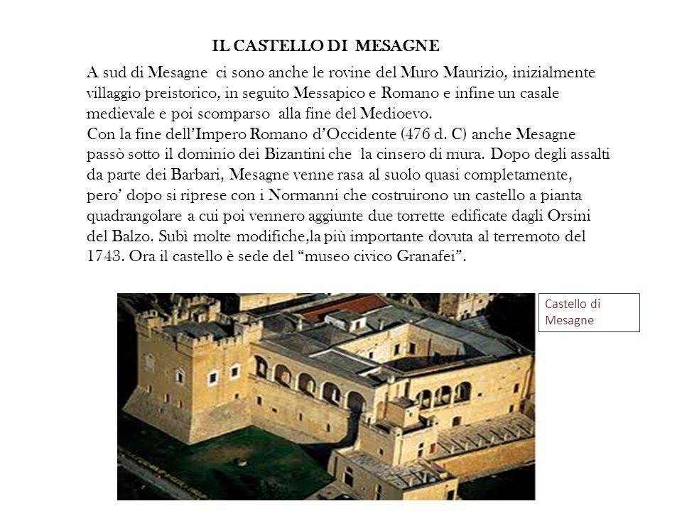 IL CASTELLO DI MESAGNE