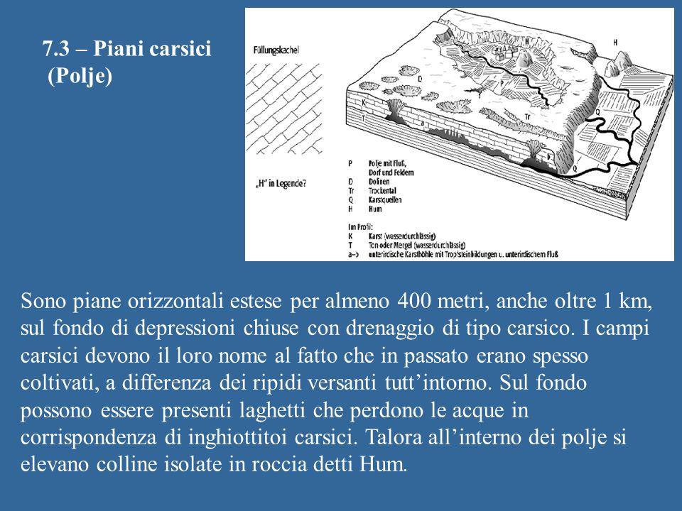 7.3 – Piani carsici (Polje)